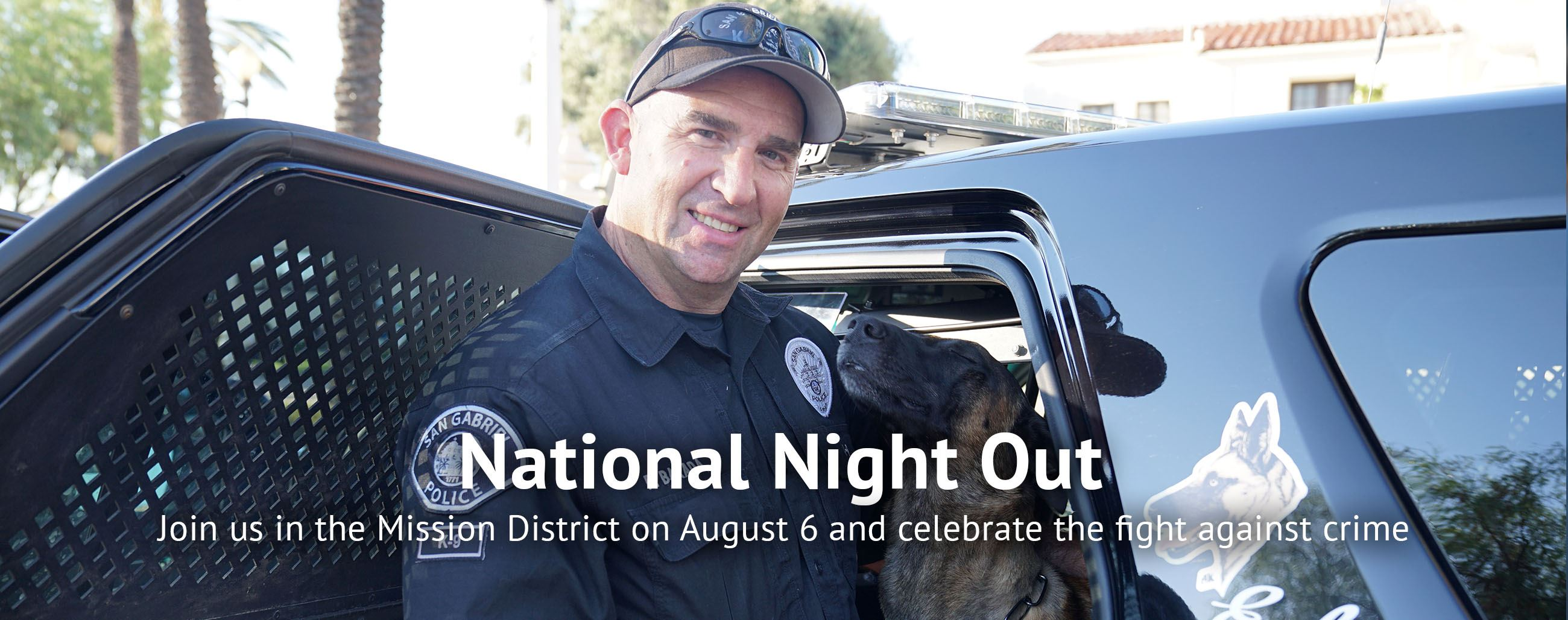 Join us in the Mission District on August 6 and celebrate the fight against crime
