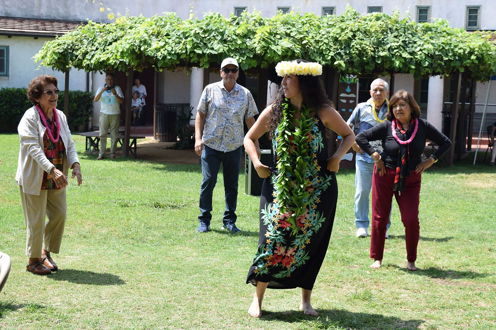 Celebrate the end of summer with a luau for older adults