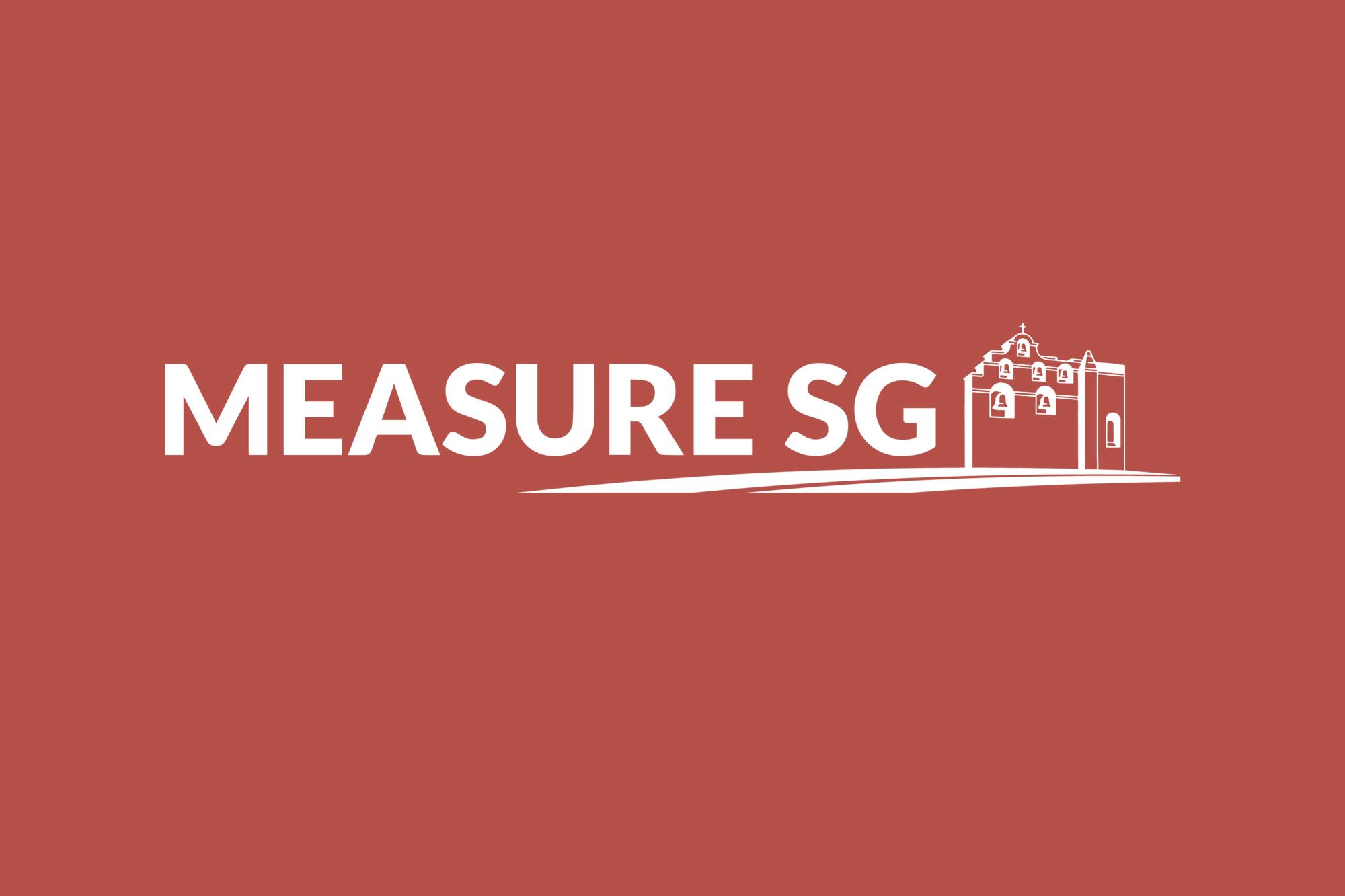 City Manager's monthly message: learn more about Measure SG