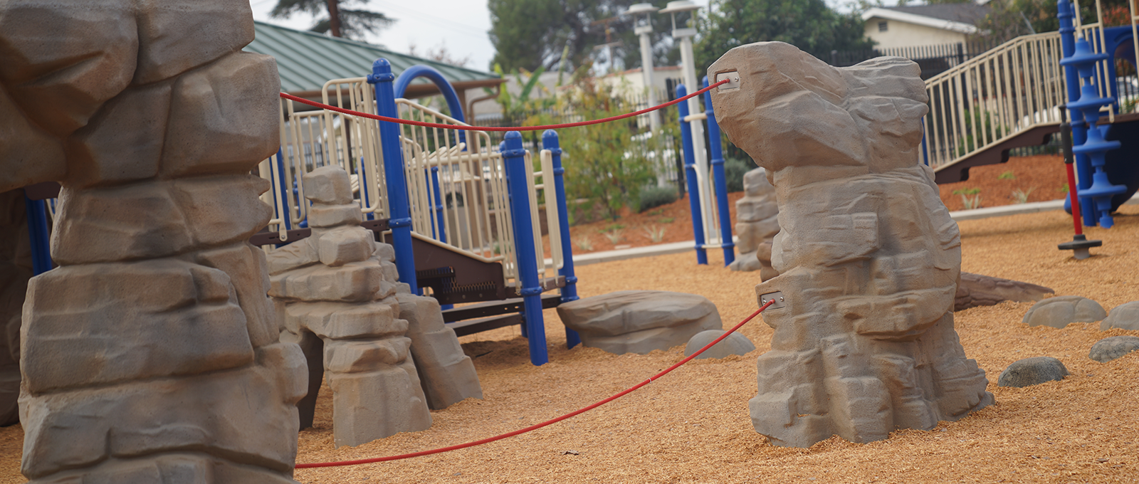 A playground at Marshall Park