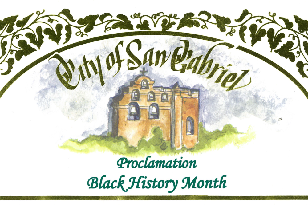 City Council Issues Proclamation on Black History Month