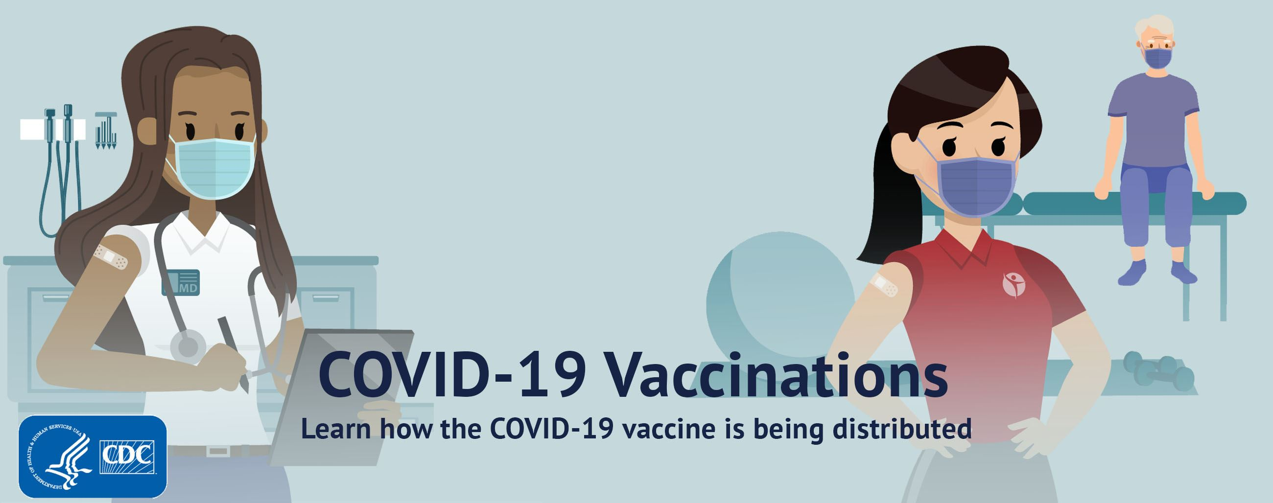 Learn how the COVID-19 vaccine is being distributed
