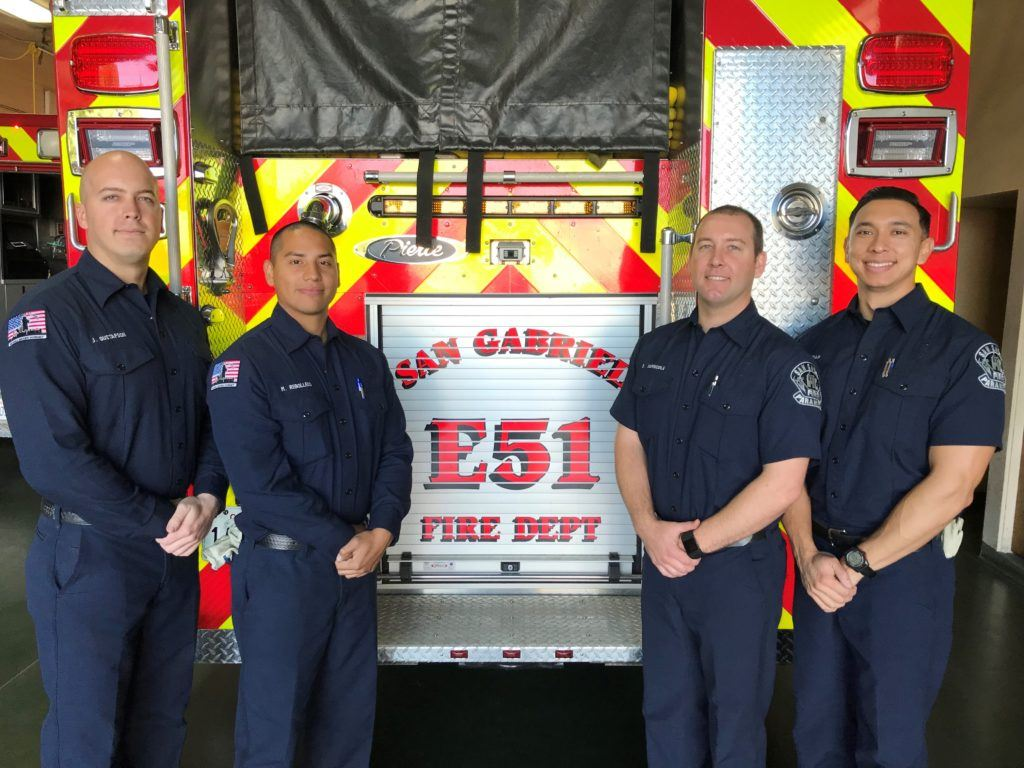 San Gabriel fire hires new firefighters, paramedics