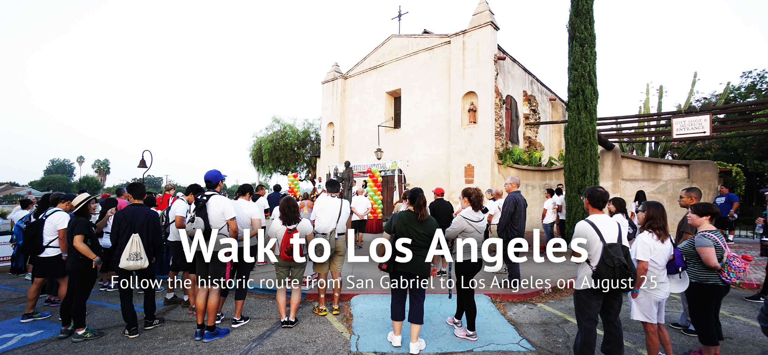 Follow the historic route from San Gabriel to Los Angeles on August 25